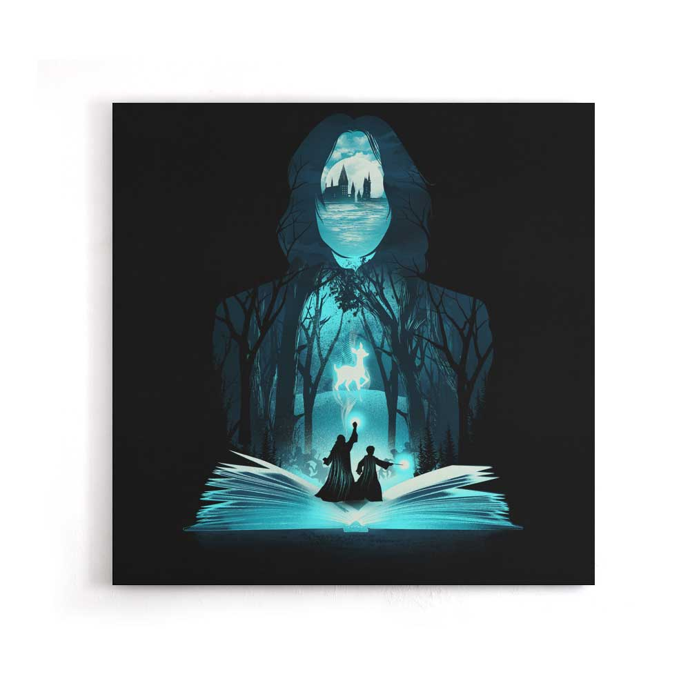 The 6th Book of Magic - Canvas Print