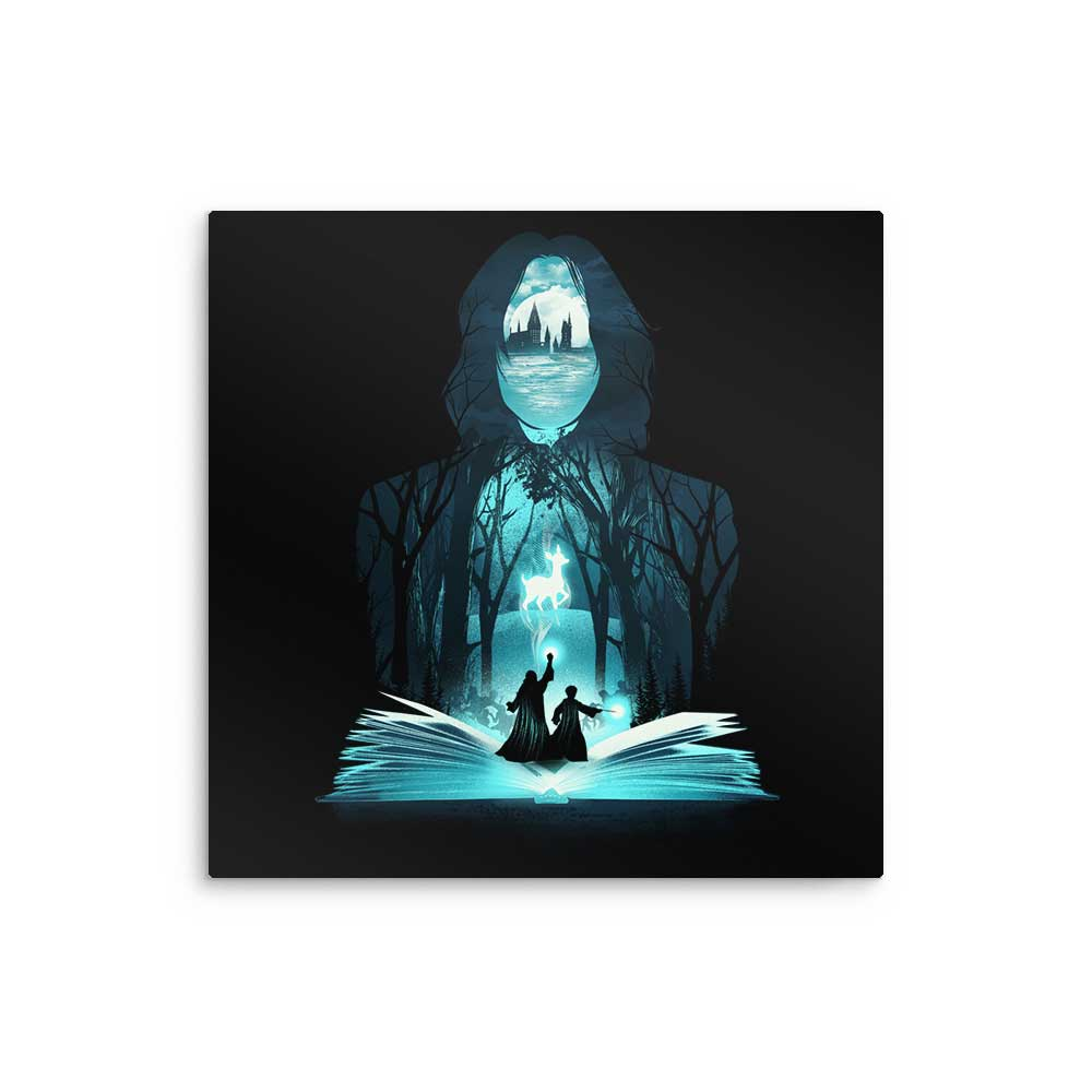 The 6th Book of Magic - Metal Print