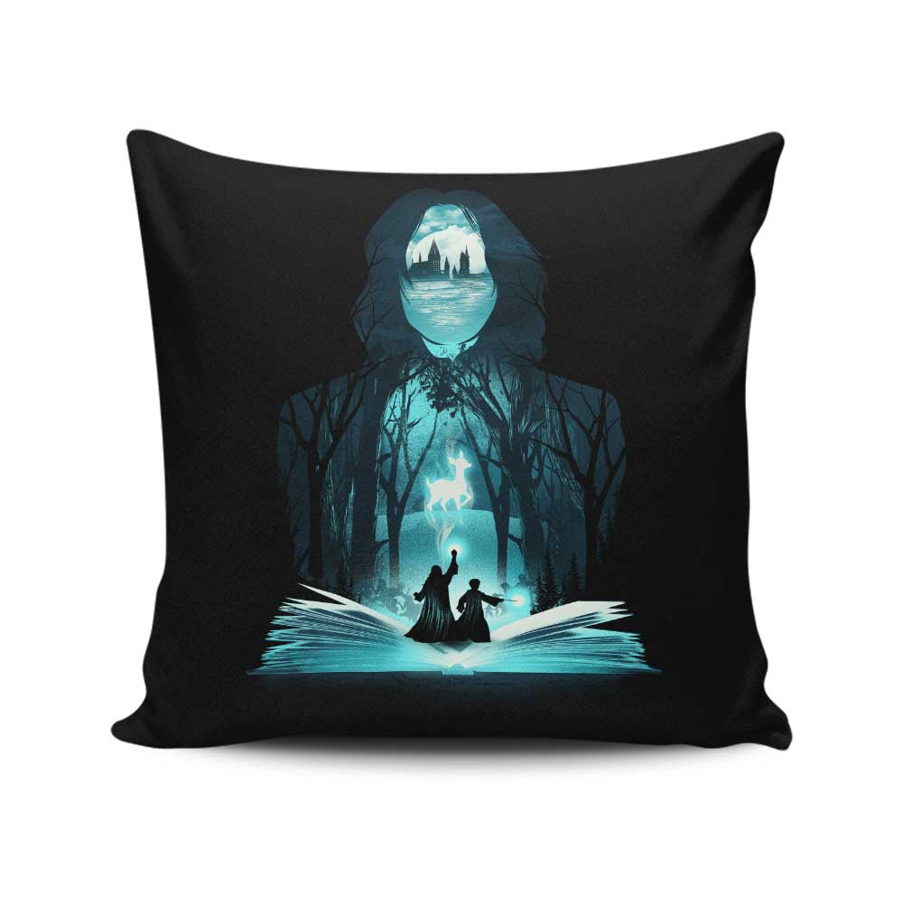 The 6th Book of Magic - Throw Pillow