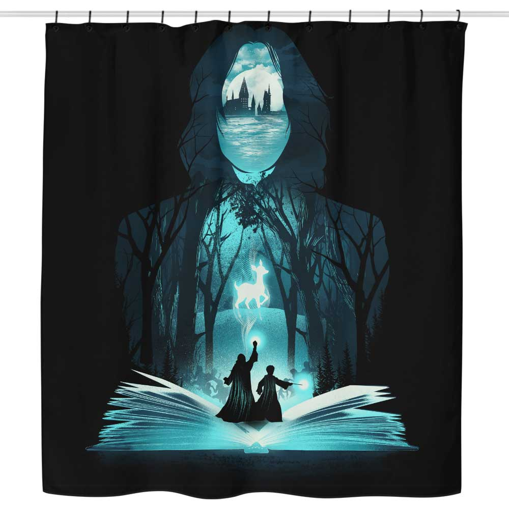 The 6th Book of Magic - Shower Curtain