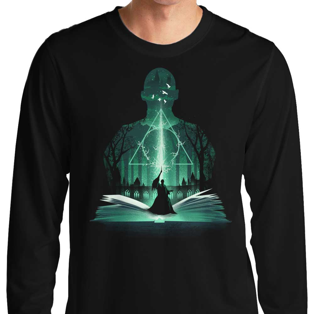 The 7th Book of Magic - Long Sleeve T-Shirt