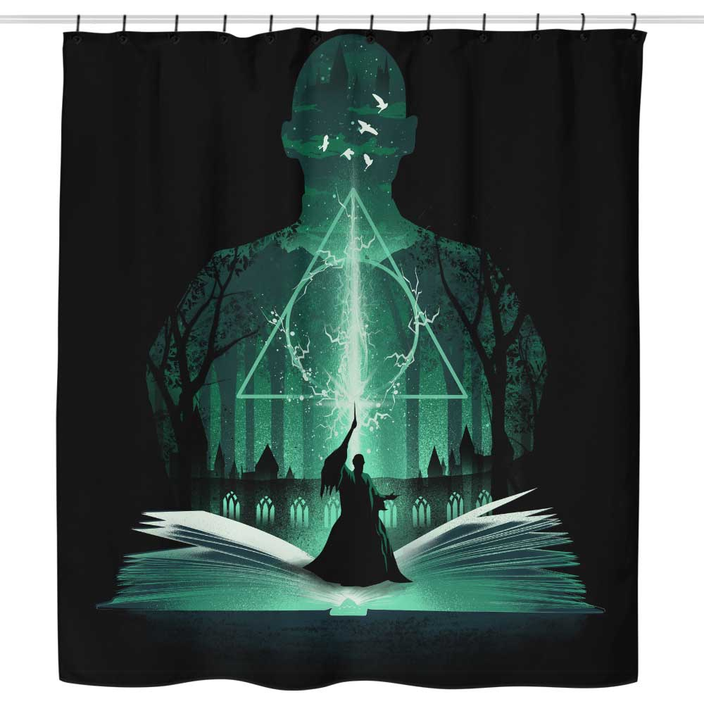 The 7th Book of Magic - Shower Curtain