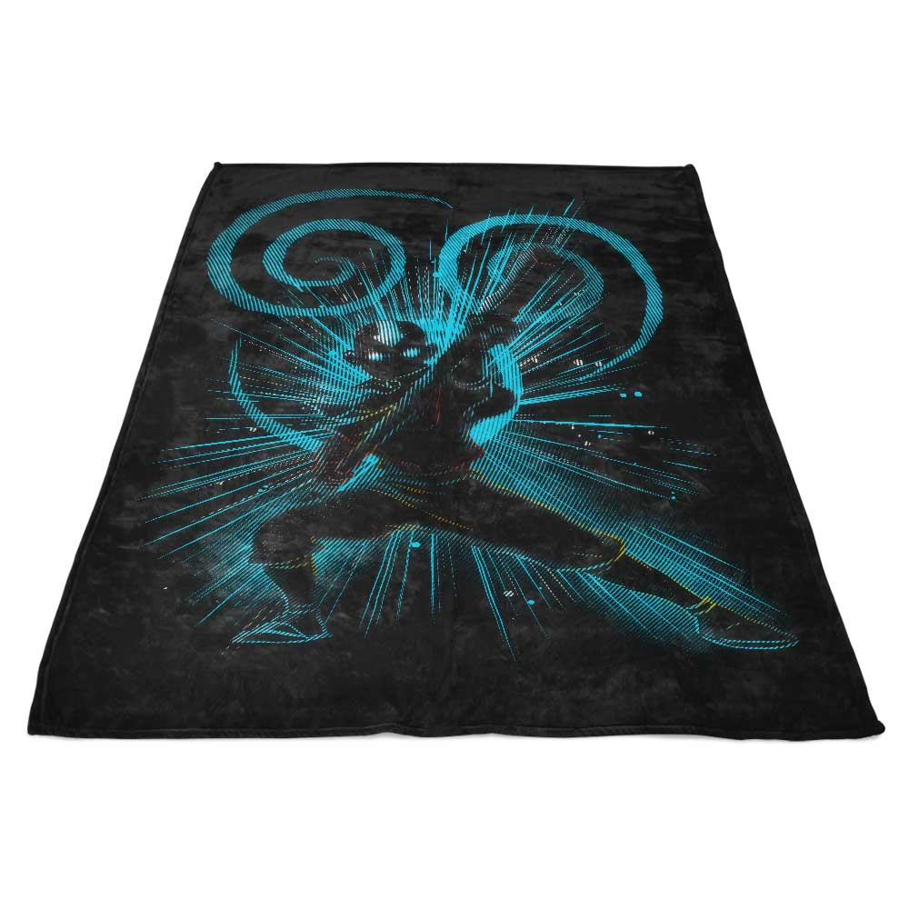 The Air Bender - Fleece Blanket