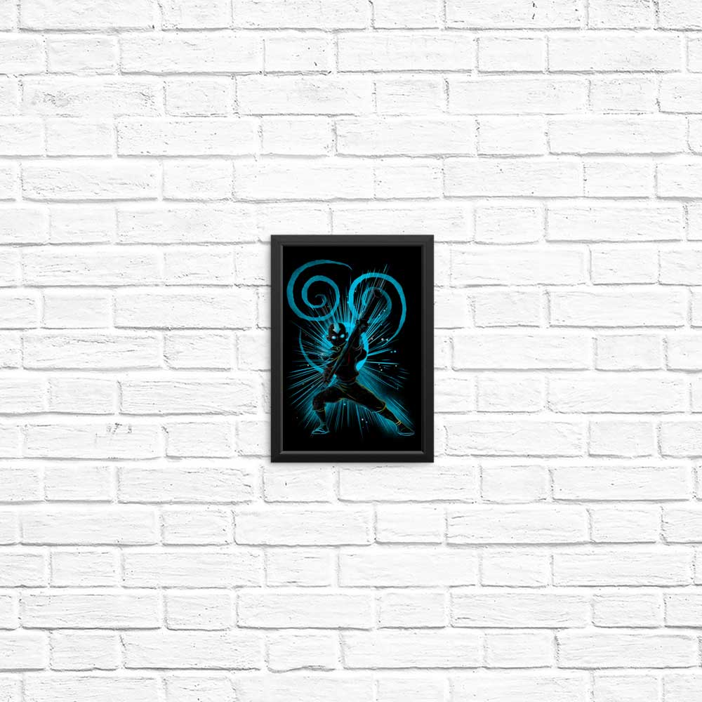 The Air Bender - Posters & Prints