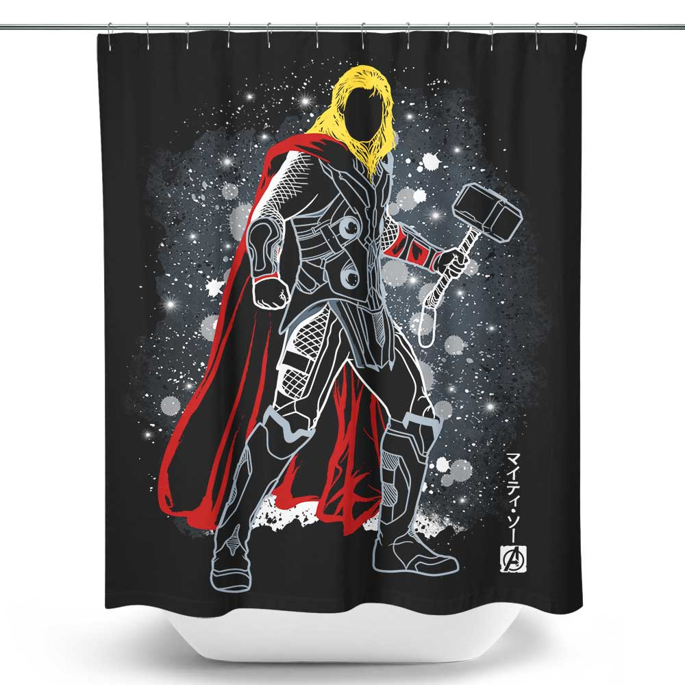 The Asgardian - Shower Curtain