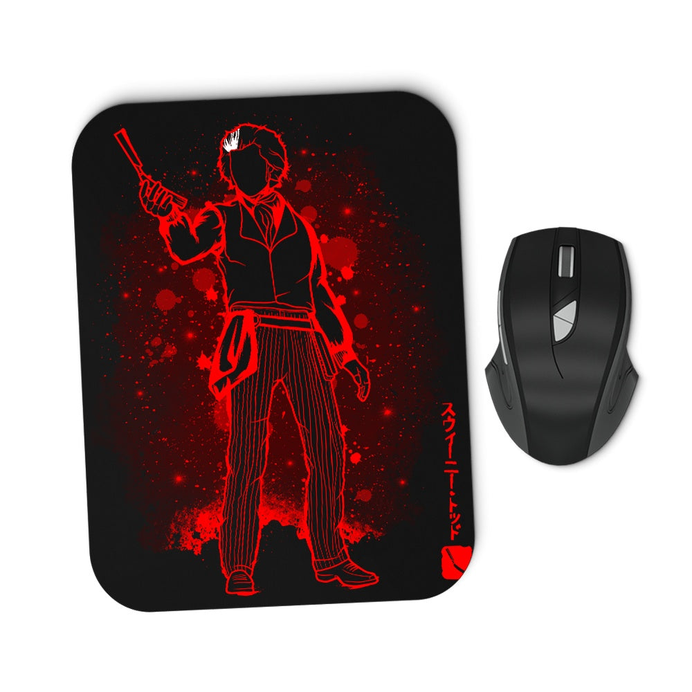 The Barber - Mousepad