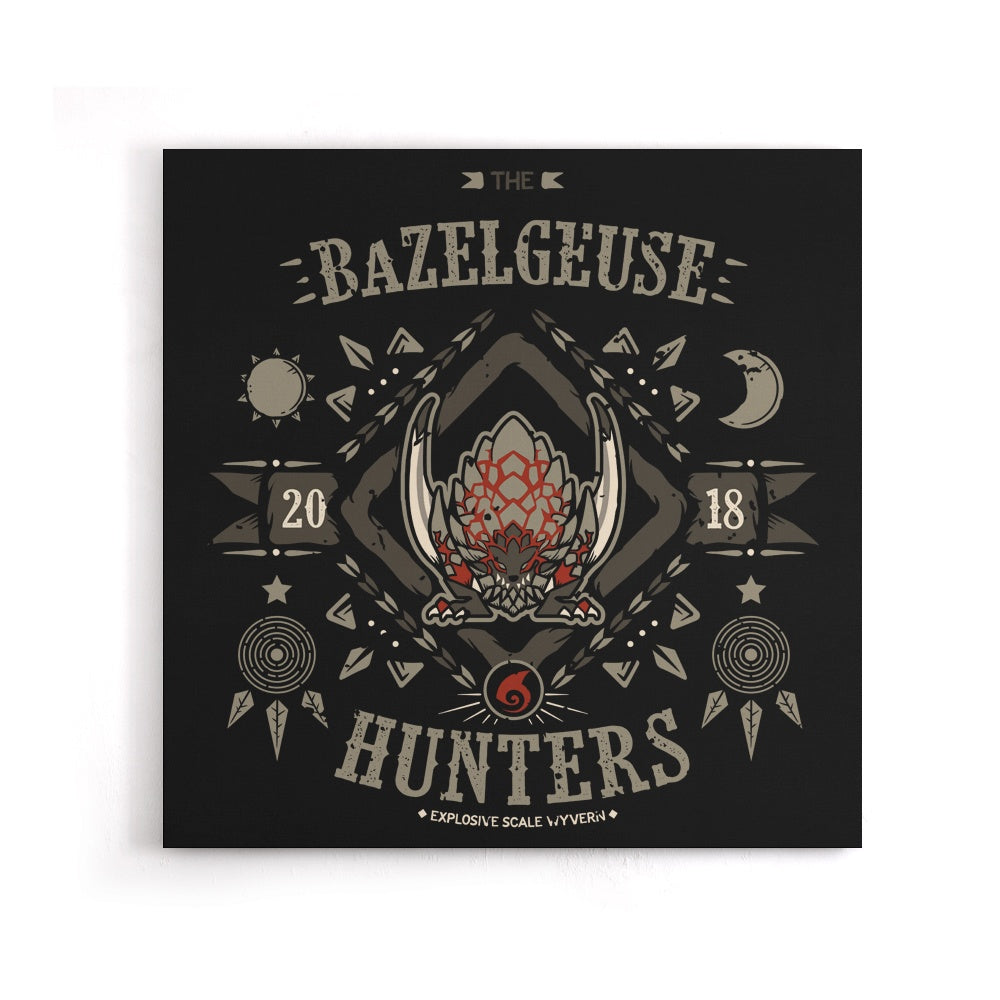 The Bazelgeuse Hunters - Canvas Print