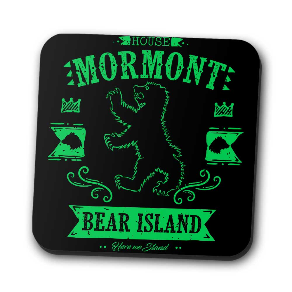 The Black Bear - Coasters
