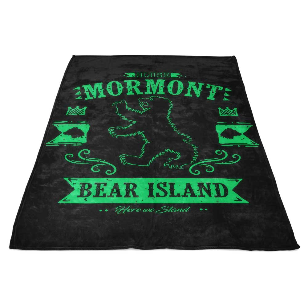 The Black Bear - Fleece Blanket