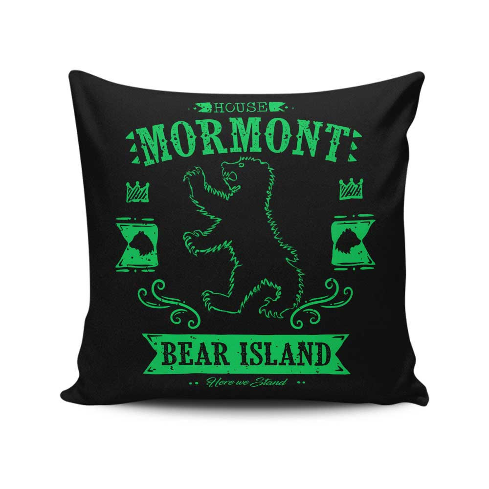 The Black Bear - Throw Pillow
