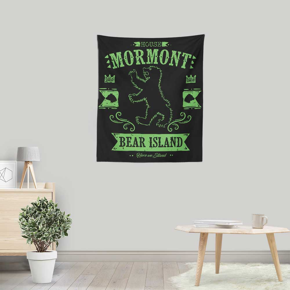 The Black Bear - Wall Tapestry