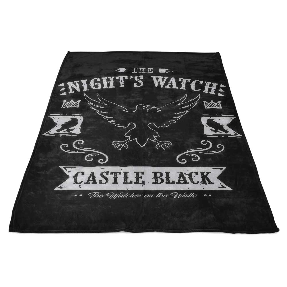 The Black Crows - Fleece Blanket