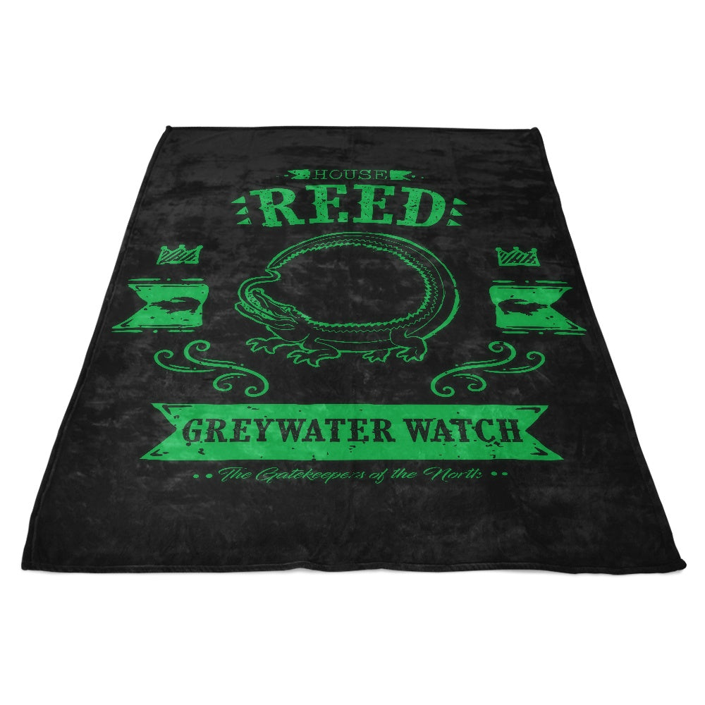 The Black Lizard - Fleece Blanket