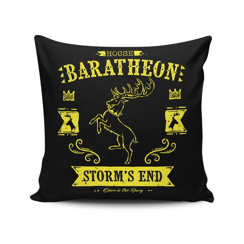 The Black Stag - Throw Pillow