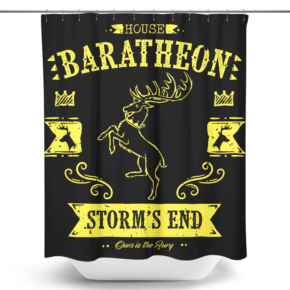 The Black Stag - Shower Curtain