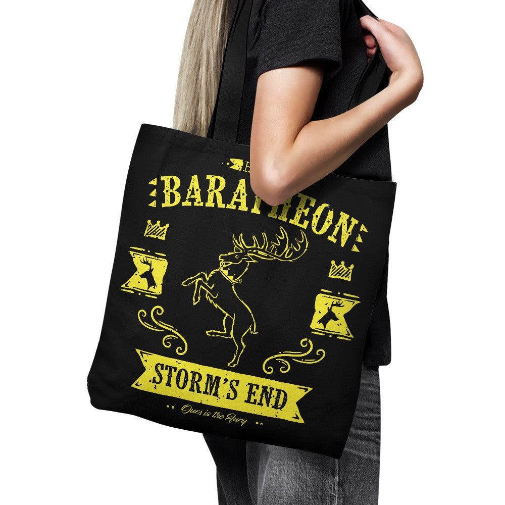 The Black Stag - Tote Bag
