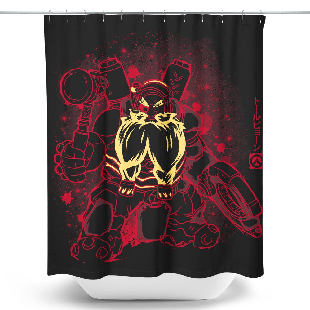 The Blacksmith - Shower Curtain