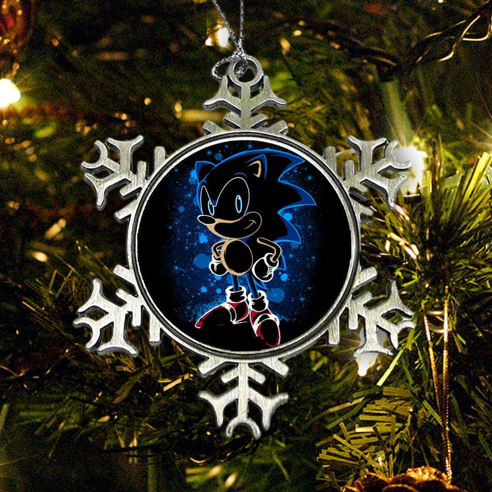 The Blue Hedgehog - Ornament