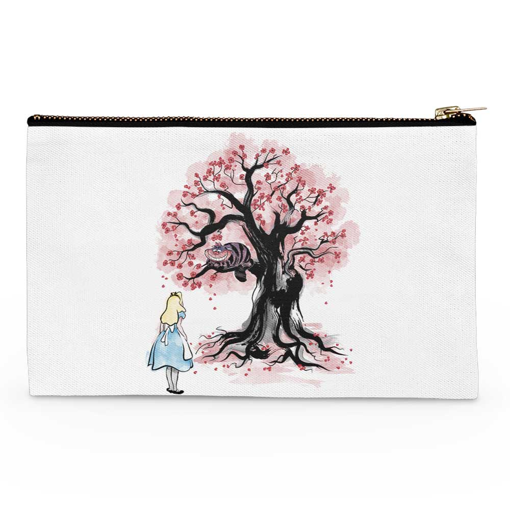 The Cheshire's Tree Sumi-e - Accessory Pouch