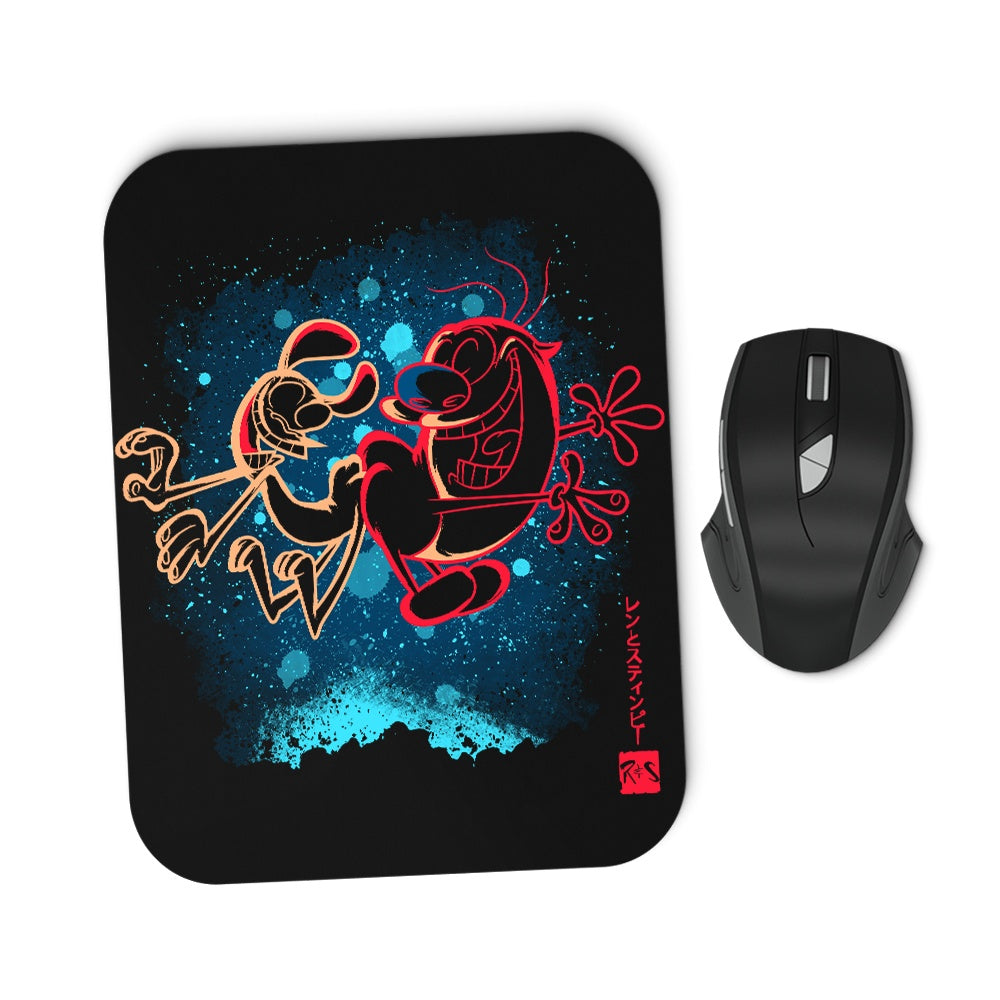 The Chihuahua and the Cat - Mousepad