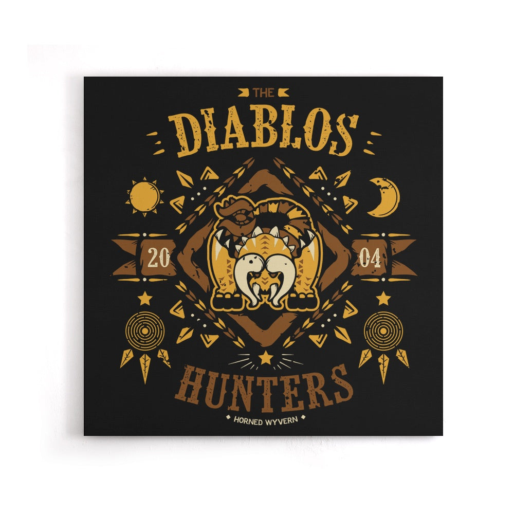 The Diablos Hunters - Canvas Print