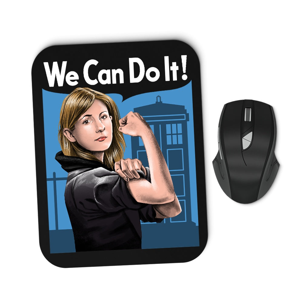 The Doctor Can Do It - Mousepad