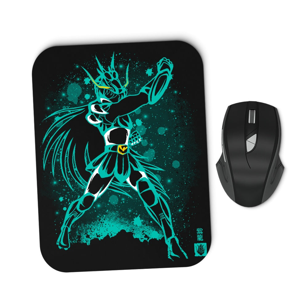 The Dragon Saint - Mousepad
