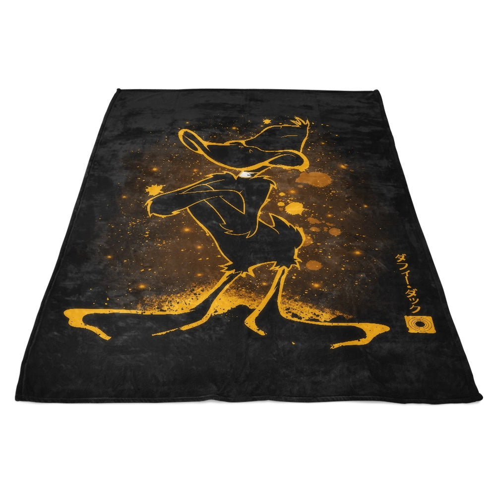 The Duck - Fleece Blanket