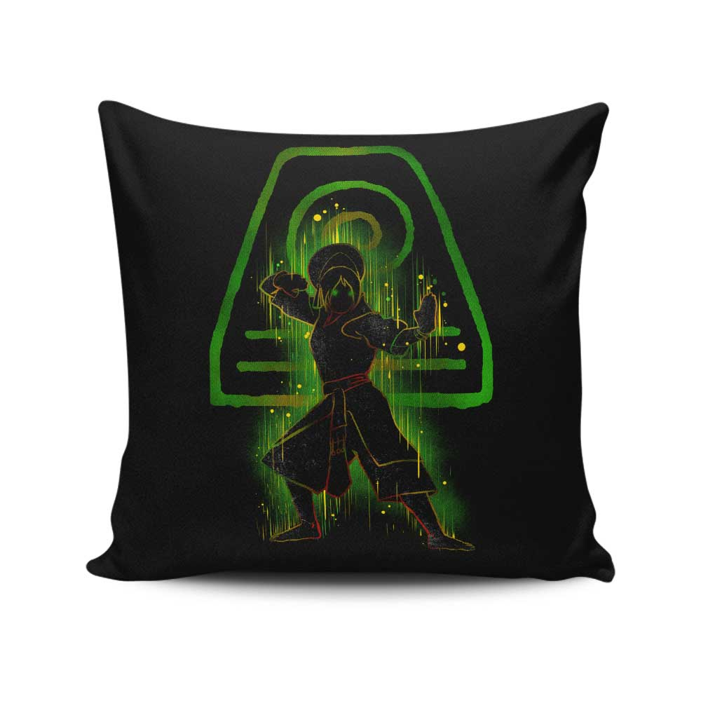 The Earth Bender - Throw Pillow
