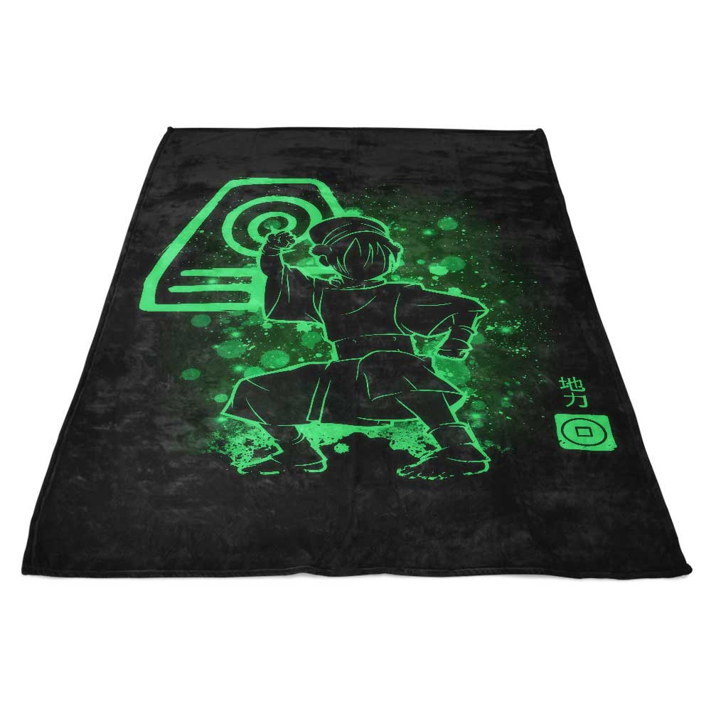 The Earth Power - Fleece Blanket