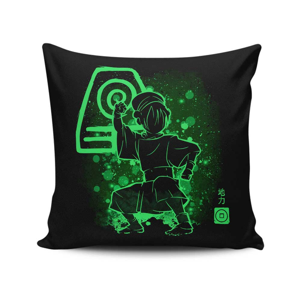 The Earth Power - Throw Pillow