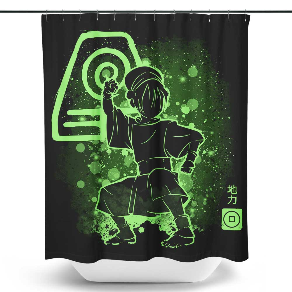 The Earth Power - Shower Curtain