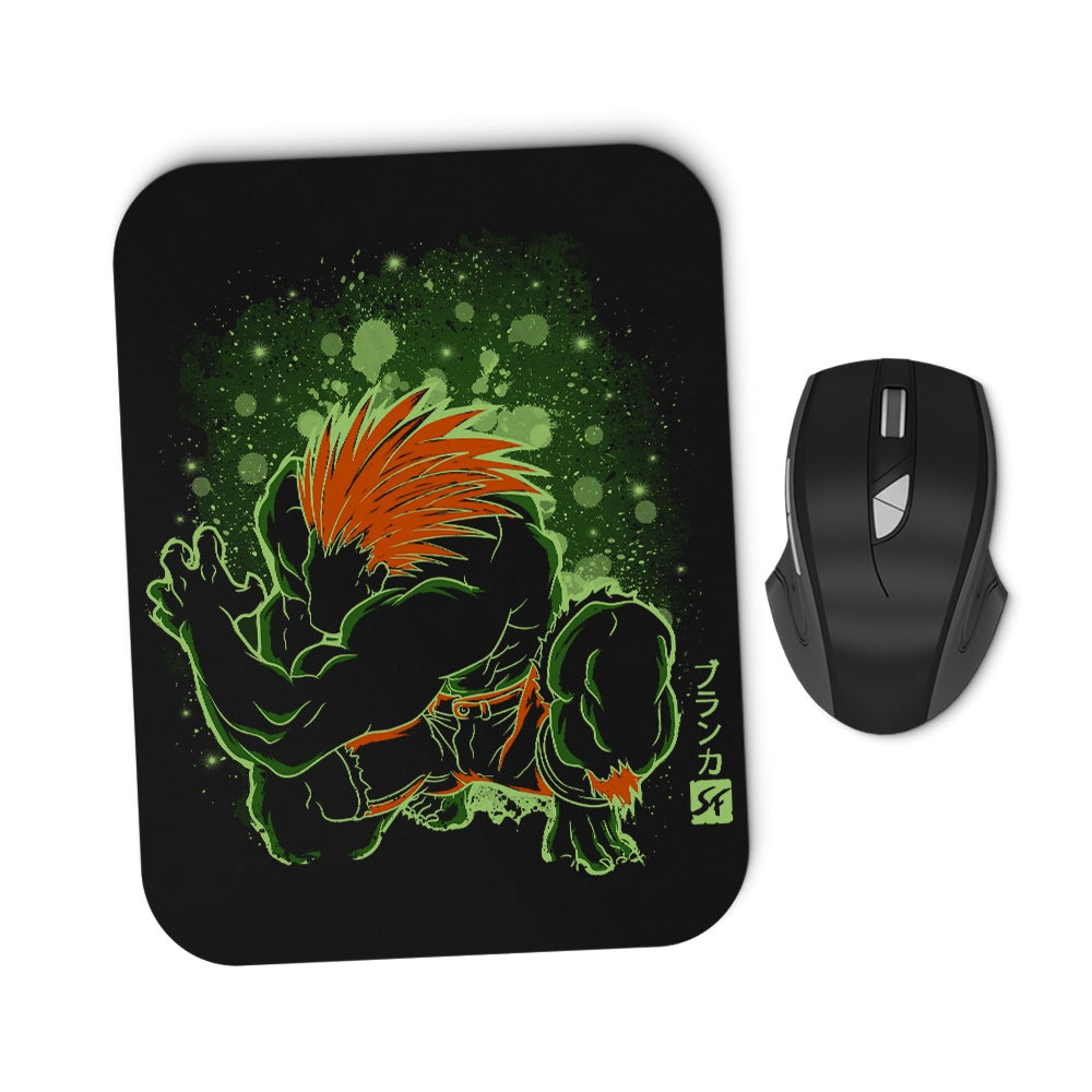 The Electric Savage - Mousepad