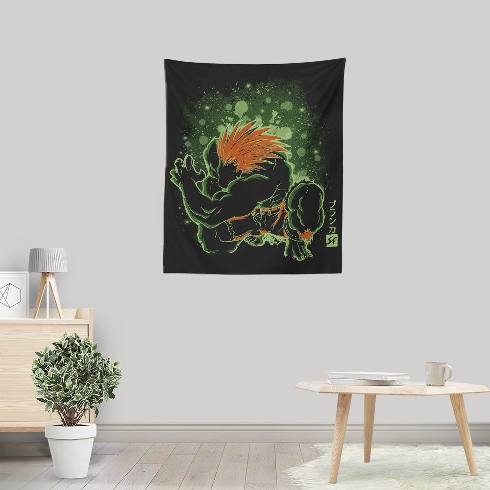 The Electric Savage - Wall Tapestry