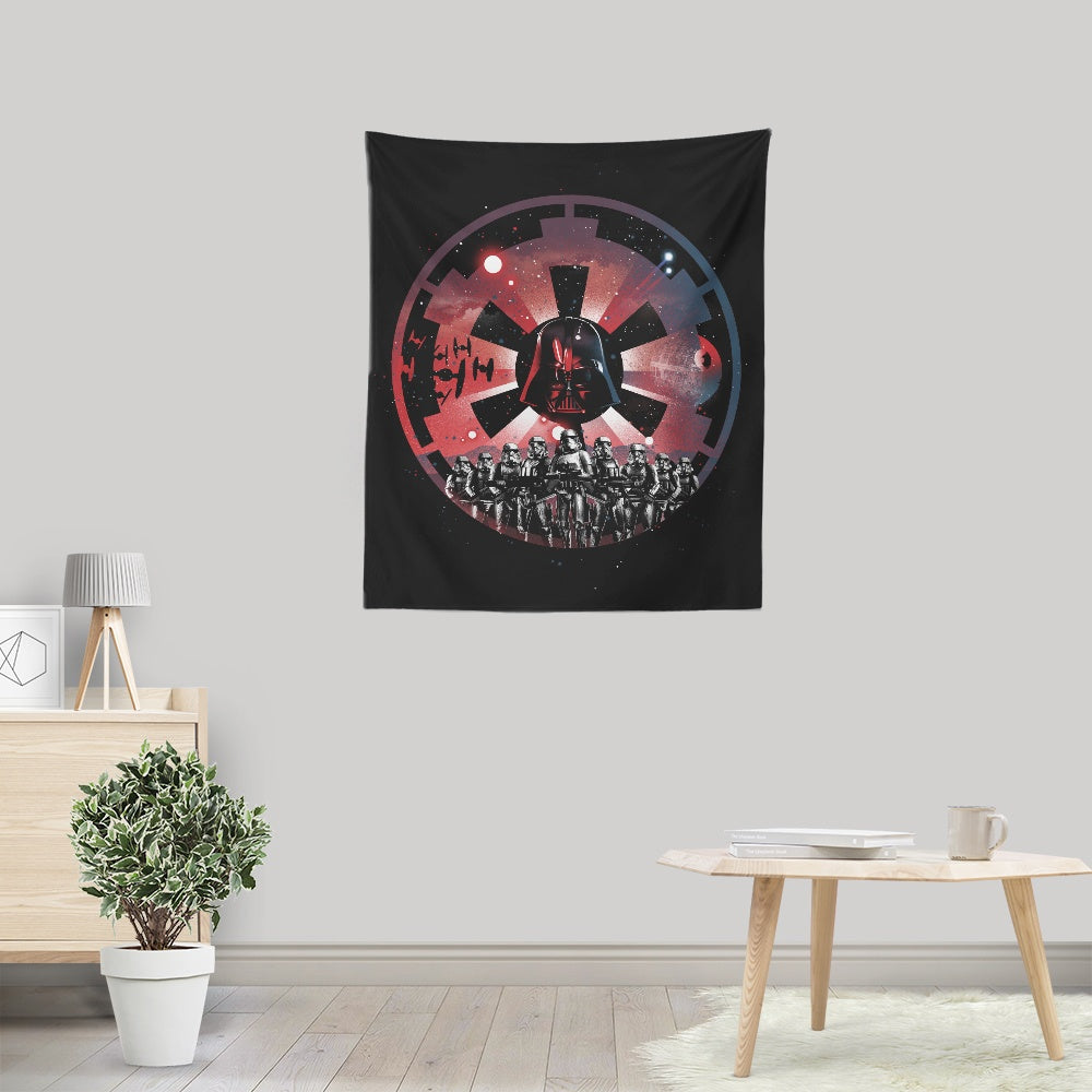 The Empire Rises - Wall Tapestry