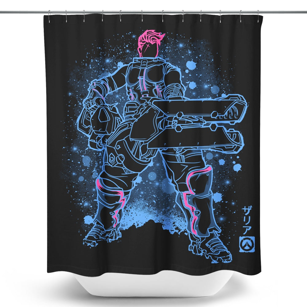 The Energy Barrier - Shower Curtain