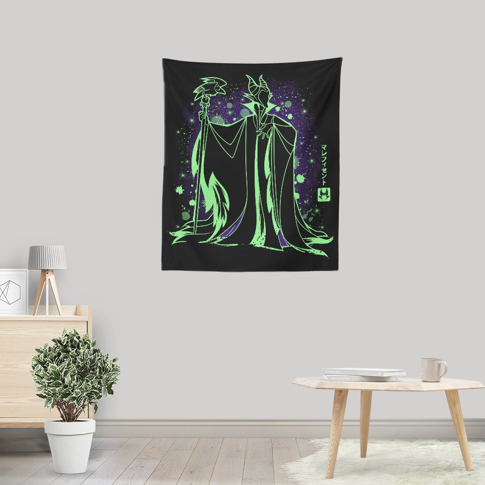 The Evil Fairy (Alt) - Wall Tapestry