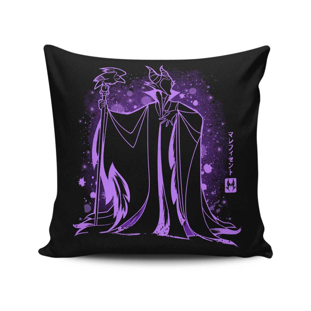 The Evil Fairy - Throw Pillow