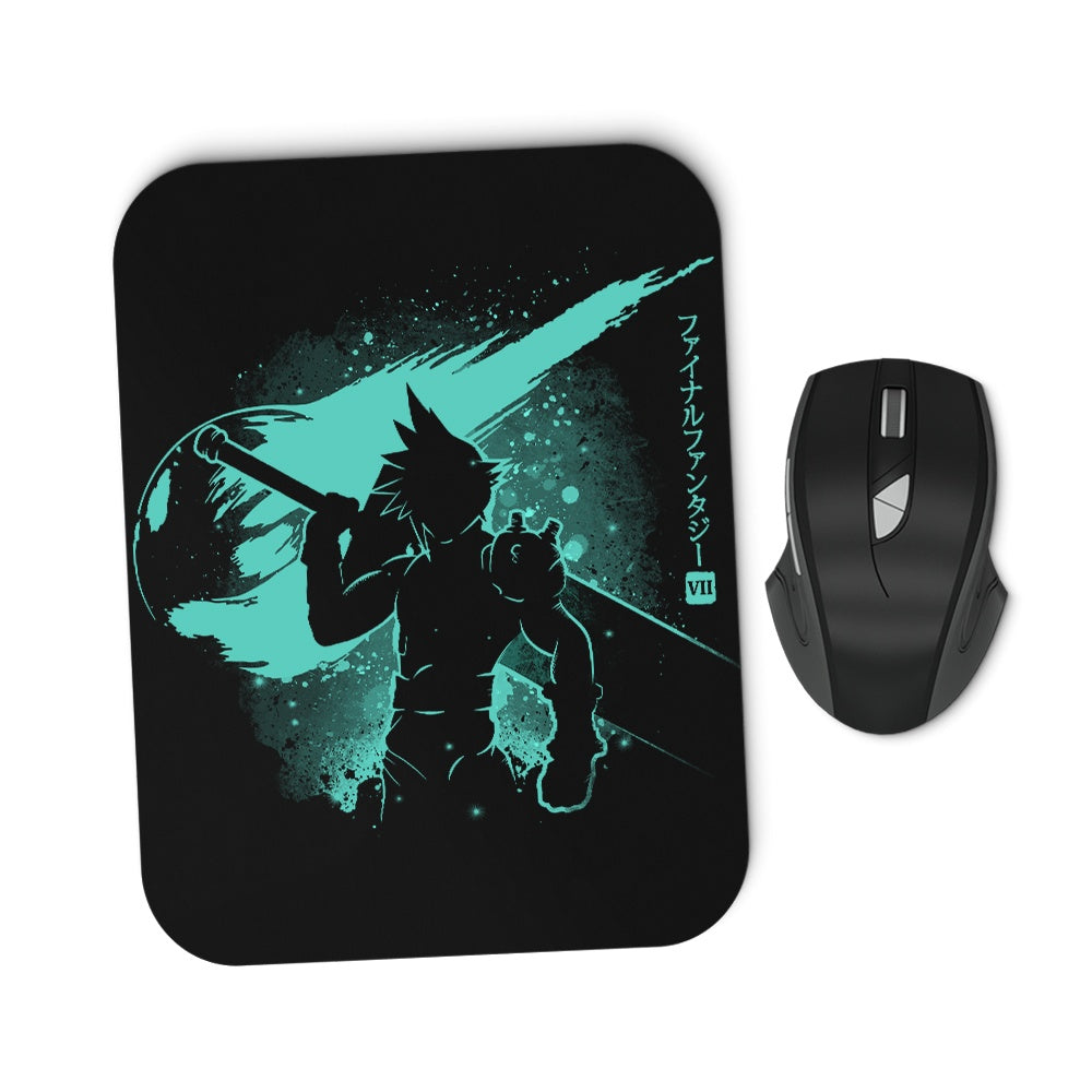 The Ex-Soldier - Mousepad