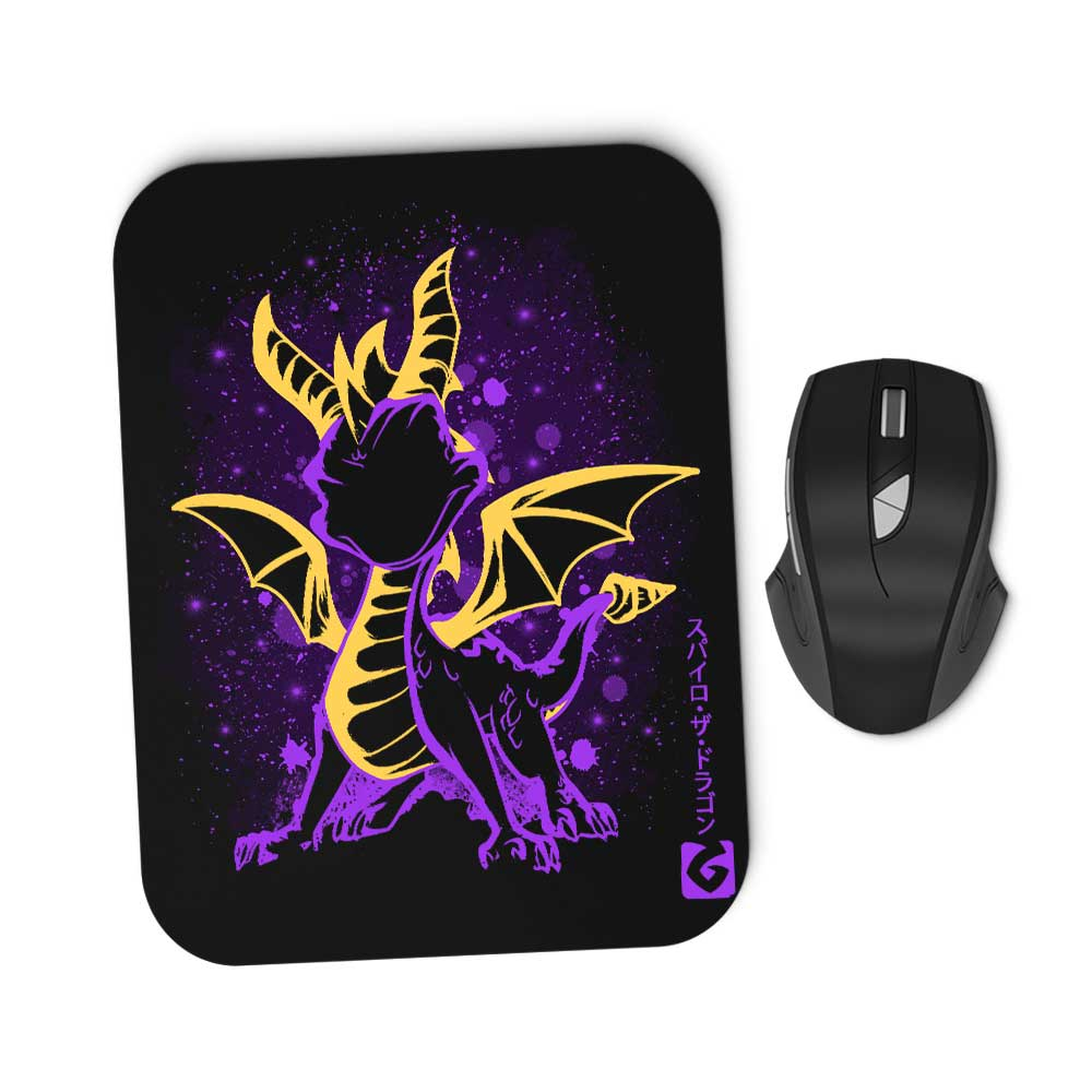The Fiery Dragon - Mousepad