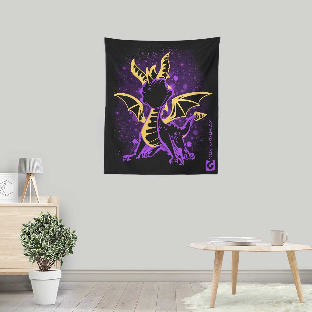 The Fiery Dragon - Wall Tapestry