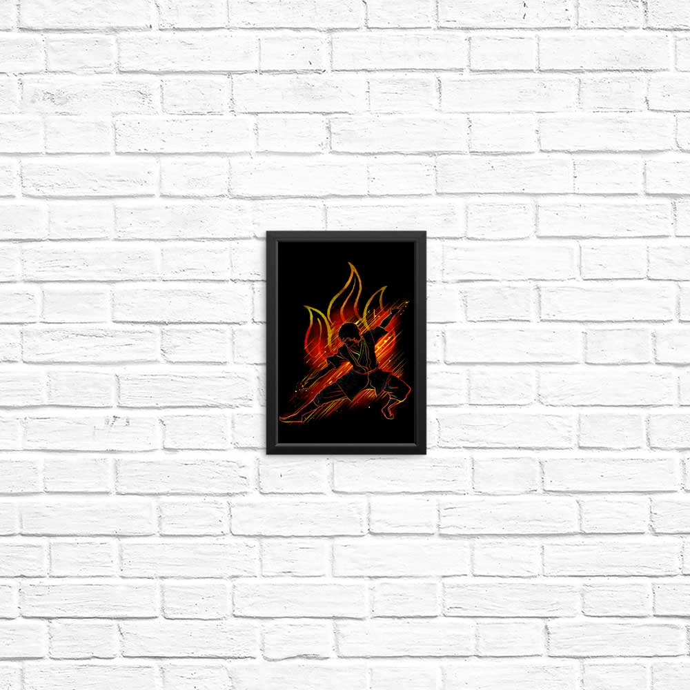The Fire Bender - Posters & Prints