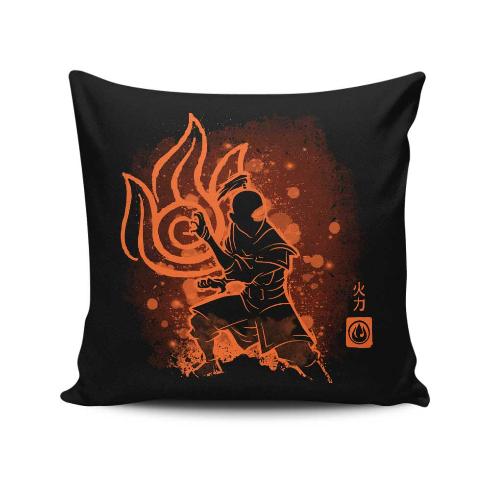 The Fire Power - Throw Pillow