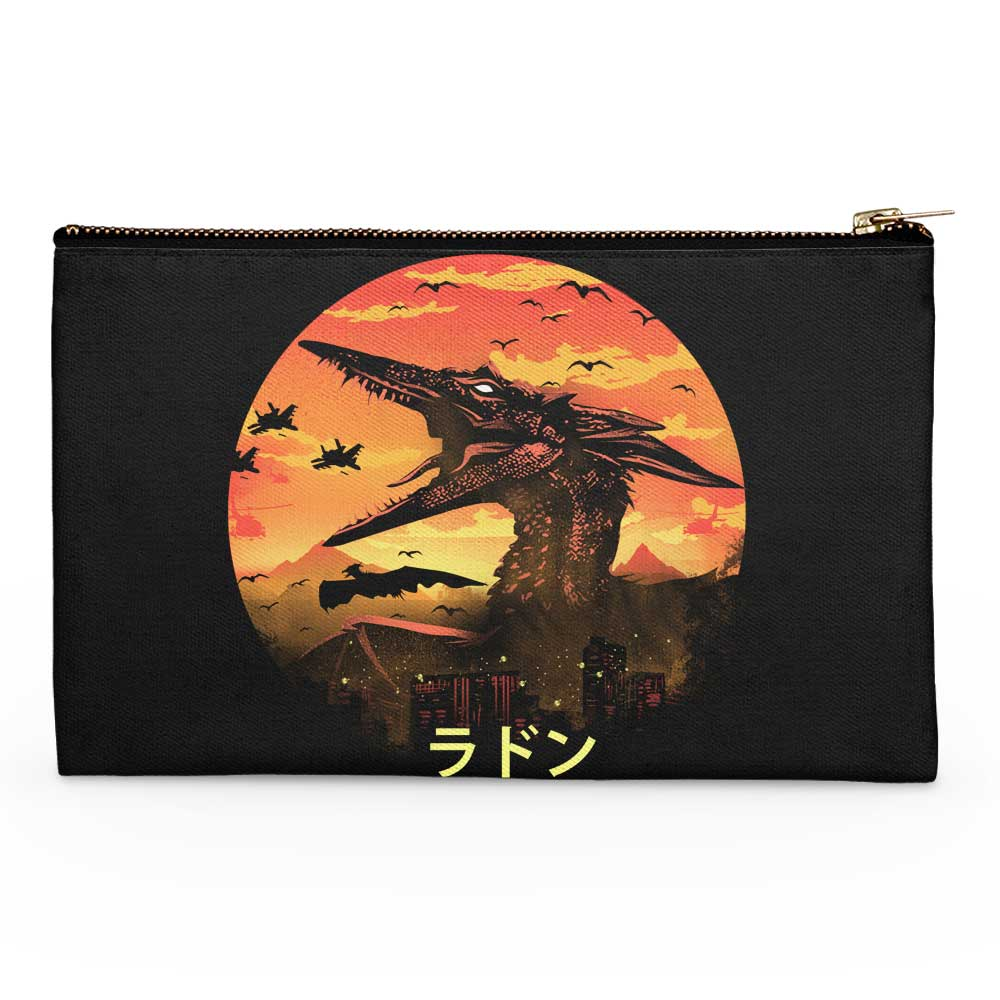 The Fire Pteranodon - Accessory Pouch