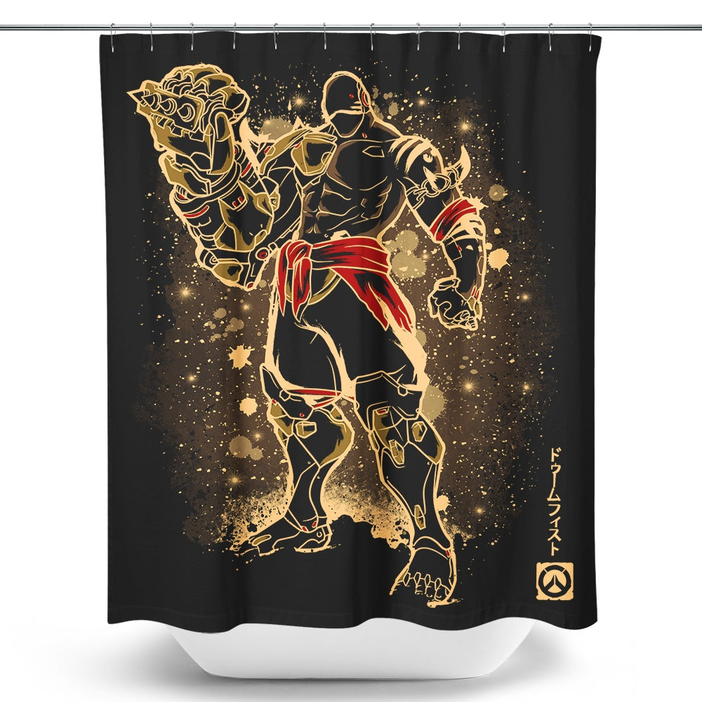The Fist - Shower Curtain