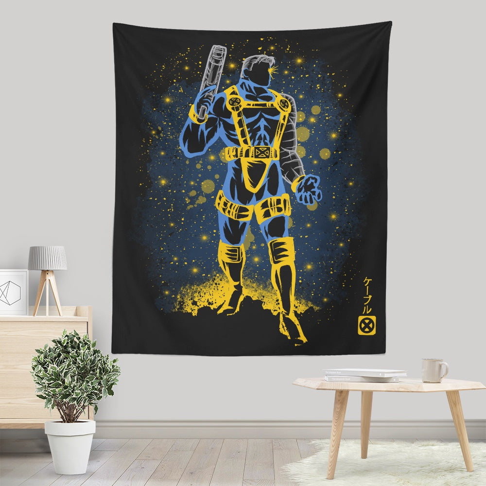 The Future Soldier - Wall Tapestry