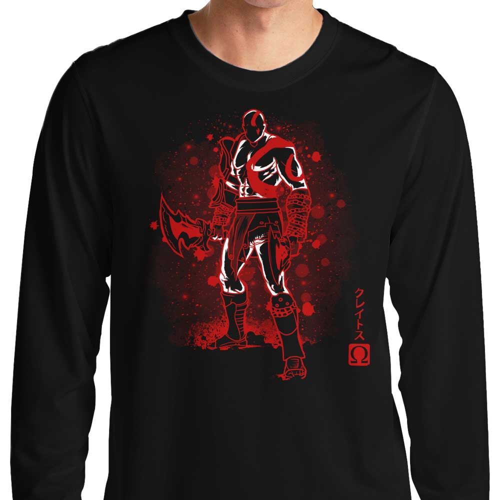 The Ghost of Sparta - Long Sleeve T-Shirt