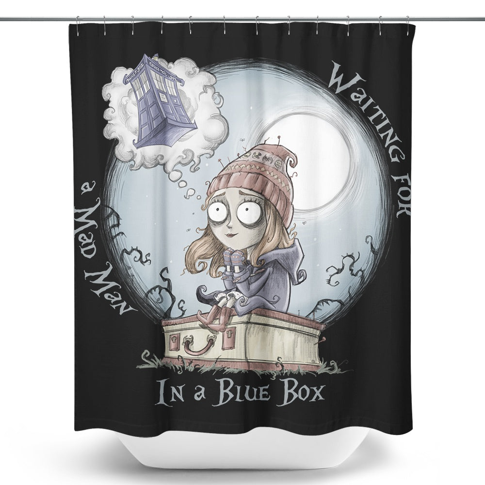 The Girl Who Waited - Shower Curtain