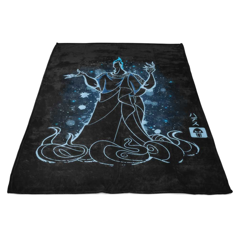 The God of the Underworld - Fleece Blanket