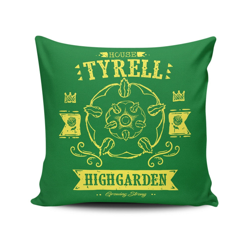 The Golden Rose - Throw Pillow